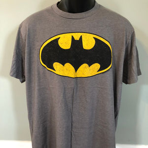 Batman Logo Shirt DC Comic Book Hero